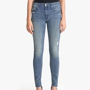 Mother High Waisted Looker in Graffiti Girl Jeans